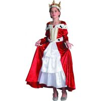 Made Dětský karnevalový kostým Královna 110-120 cm