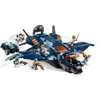 Lego Super Heroes 76126 Parádní tryskáč Avengerů  4
