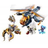 LEGO Super Heroes 76144 Hulk a výsadek vrtulníkem