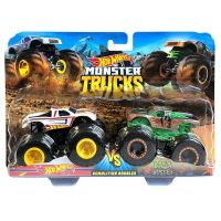 Mattel Hot Wheels Monster trucks demoliční duo Hot Wheels VS Baja Buster GBT71