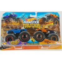Mattel Hot Wheels Monster trucks demoliční duo Rodger Dodger vs. Dodge Charger