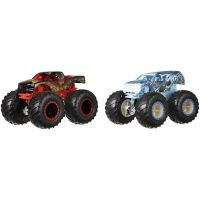 Mattel Hot Wheels Monster trucks demoliční duo Scoreher VS 32Degrees FYJ67