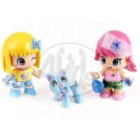 PinyPon Dvě panenky se zvířátky