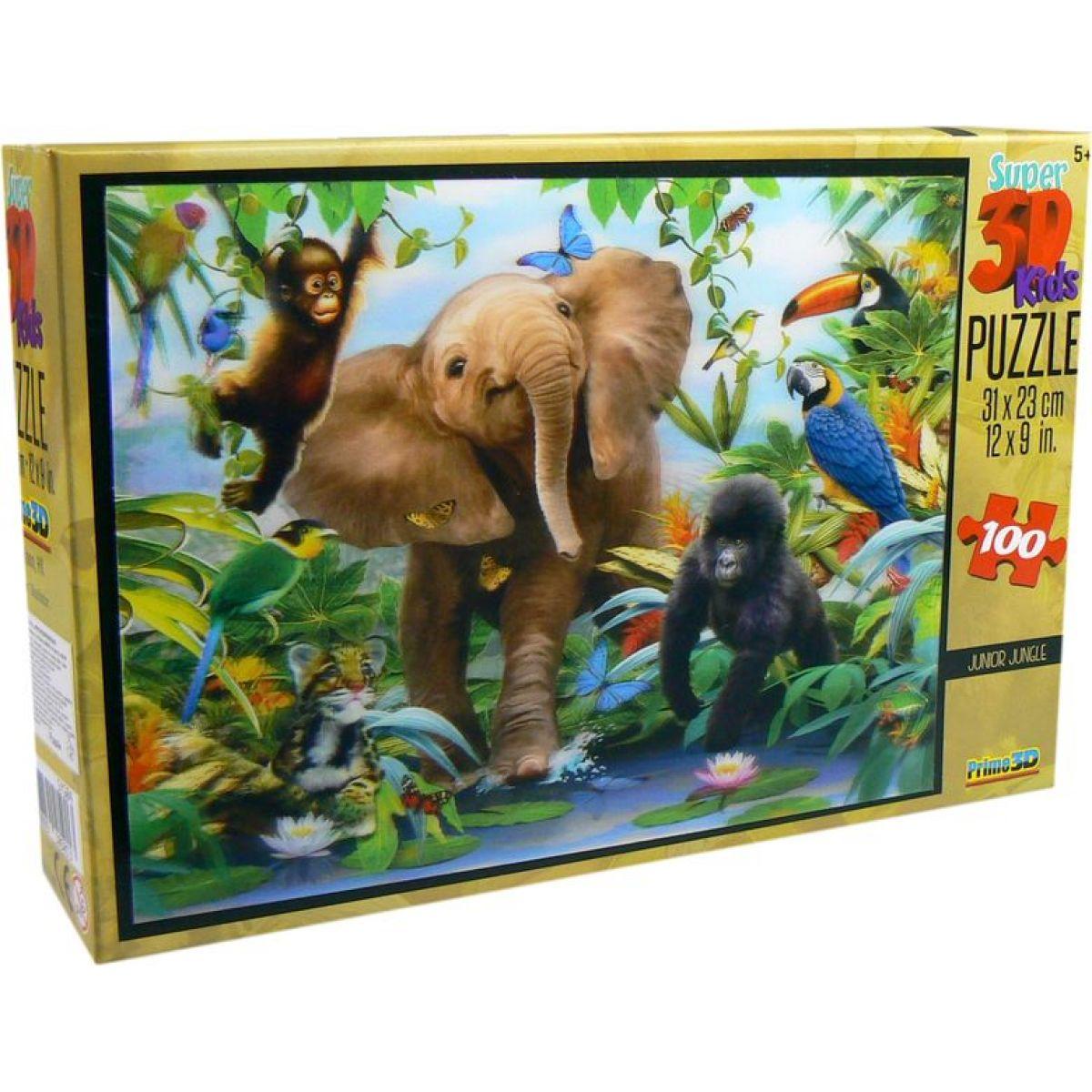 3D Puzzle Kids Jungle 100 dílků