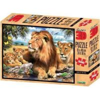 3D Puzzle Lvi 500 dílků