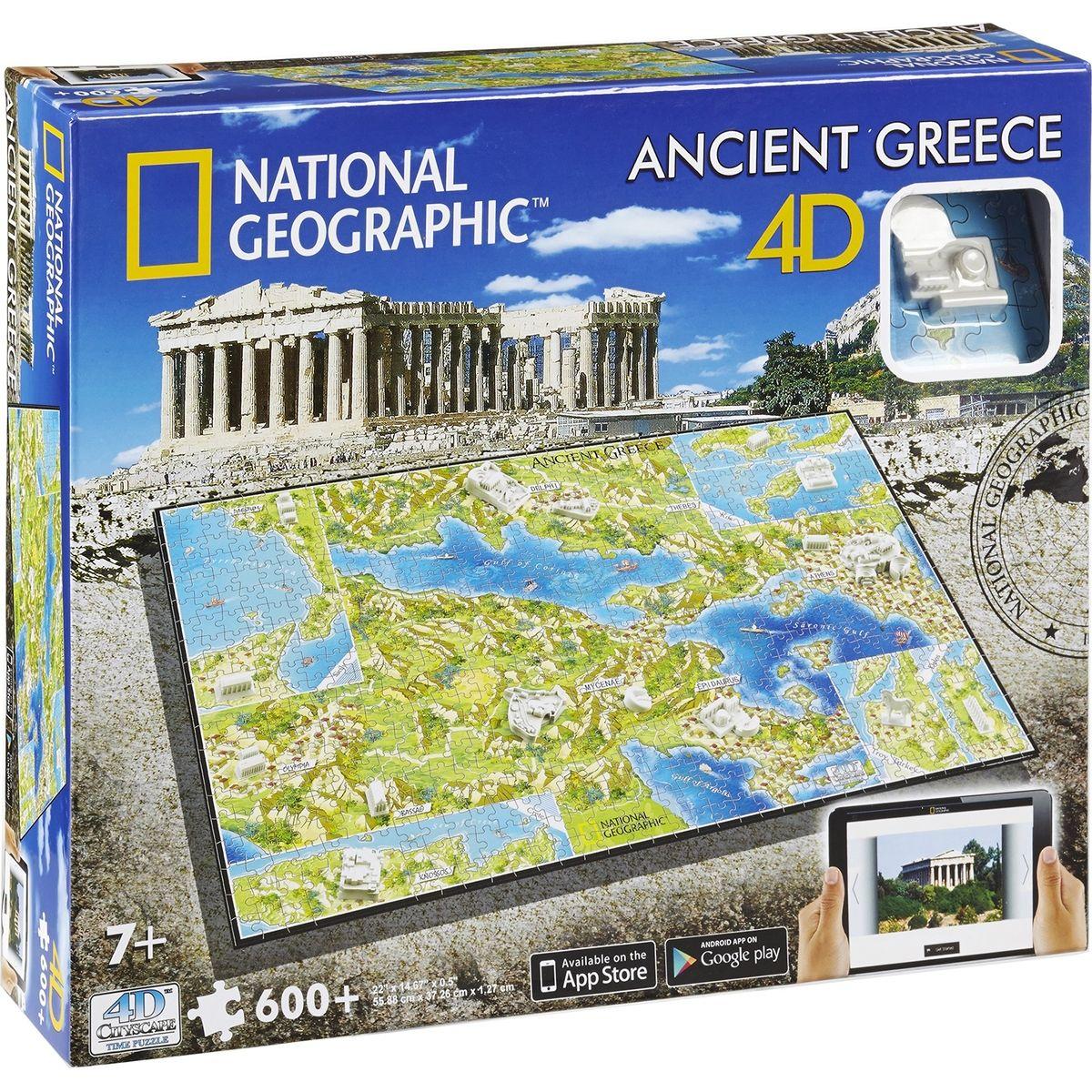 4D Cityscape National Geographic Starověké Řecko