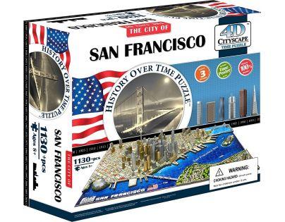 4D Cityscape Puzzle San Francisco