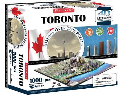 4D Cityscape Puzzle Toronto
