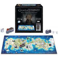 4D Cityscape Puzzle Hra o Trůny Westeros MINI 350 dílků