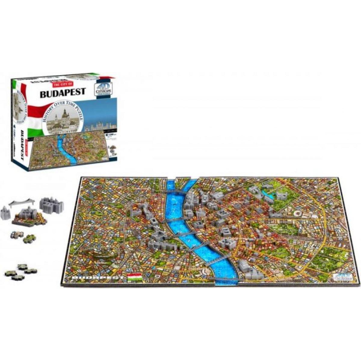 4DCityscape Puzzle Budapešť