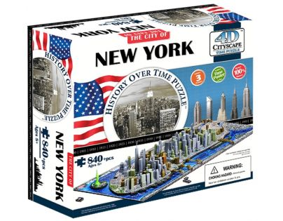4D City Puzzle New York