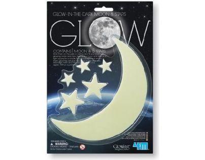 4M Svítící měsíc a hvězdy