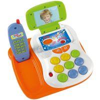 Simba ABC Veselý telefon s funkcí nahrávání