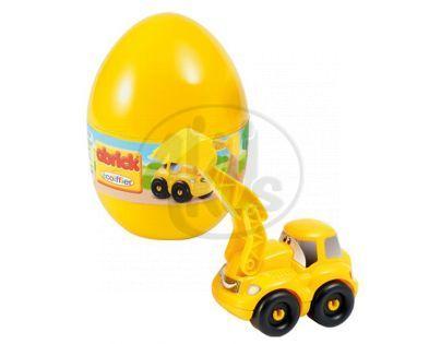 Abrick 16108 Velikonoční vejce s autíčkem - Bagr
