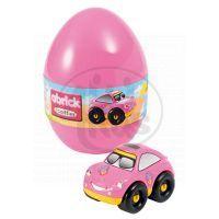 Abrick 16108 Velikonoční vejce s autíčkem - Růžové auto