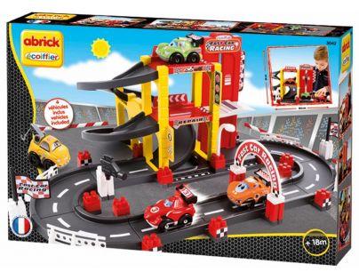 Abrick 3042 Závodní okruh s garáží
