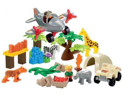 Abrick 3073 Safari s džunglí se zvířátkami 59ks