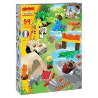 Abrick 3073 Safari s džunglí se zvířátkami 59ks 2
