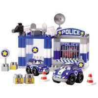 Abrick 3081 Policejní Stanice 57 dílů - Poškozený obal