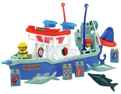 Abrick 3126 Rybářská loď 30ks