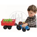 Abrick 3234 Traktor s farmářem a zajícem 22ks 3