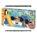 Abrick 3235 Aquapark Auto s přívesem 23ks 2
