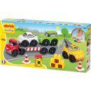 Abrick 3245 Transportér + 3 auta 38 ks 3
