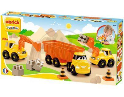 Abrick 3252 Stavební auta sada