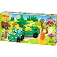 Abrick 3256 Lesní zvířátka s autem
