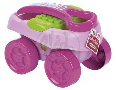 Abrick 7712 Maxi Vozík s kostkami 40ks