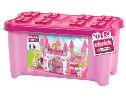 Abrick Maxi 7748 Kostky v boxu Princezna na zámku 83ks