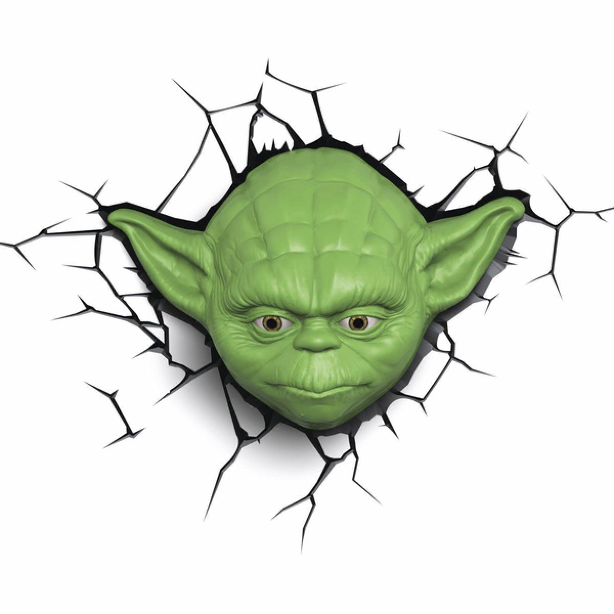 ADC Black Fire 3D světlo EP7 Star Wars Yodova hlava