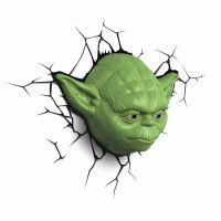 ADC Black Fire 3D světlo EP7 Star Wars Yodova hlava 2