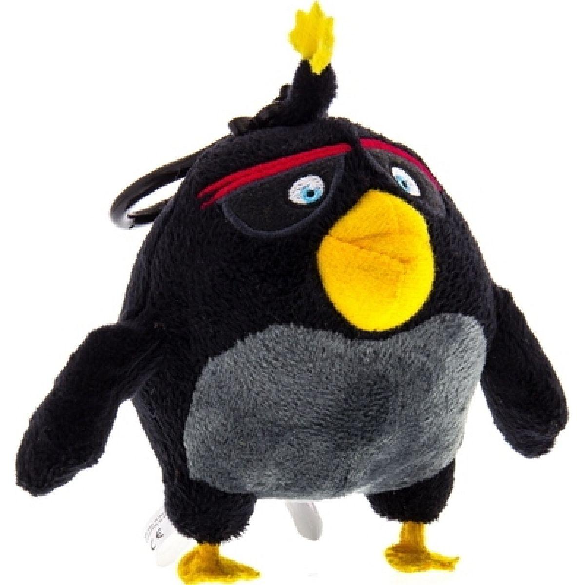 ADC Blackfire Angry Birds Plyšák s přívěskem - Bomb
