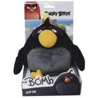 ADC Blackfire Angry Birds Plyšák s přívěskem - Bomb 2