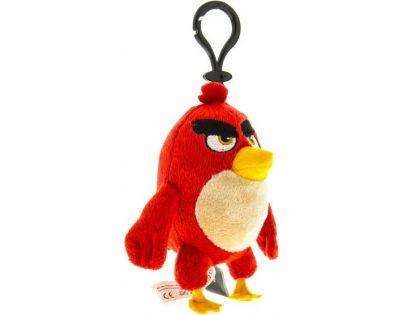 ADC Blackfire Angry Birds Plyšák s přívěskem - Red