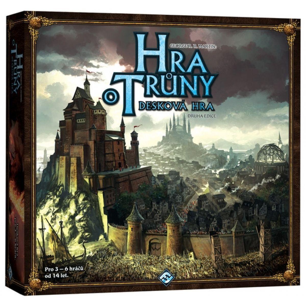 Black Fire Fantasy Flight Games FVA65 - Hra o Trůny - desková hra