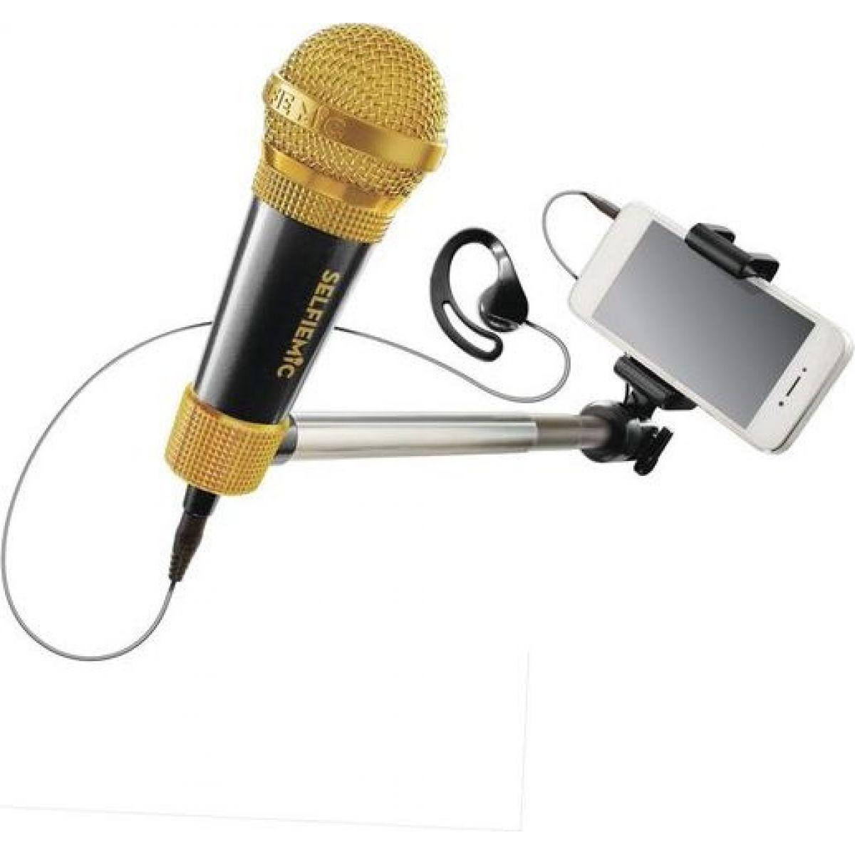 Black Fire Selfie mikrofon černý