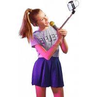 Black Fire Selfie mikrofon černý 6