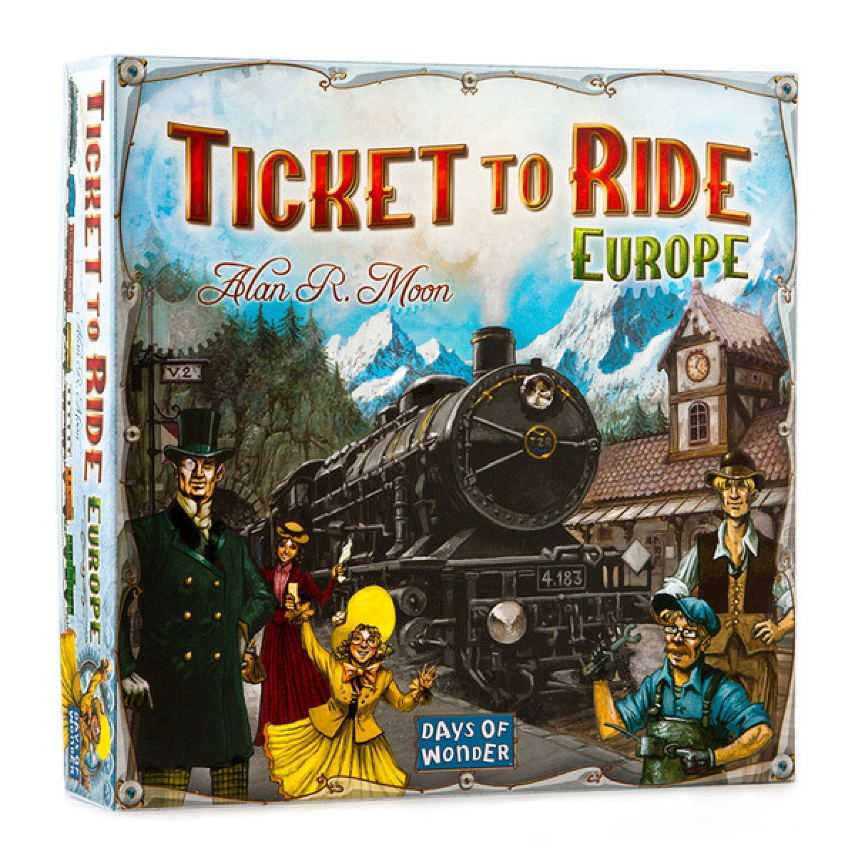 Black FireTicket to Ride Europe