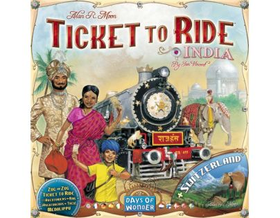 ADC Blackfire Ticket to Ride - India and Switzerland