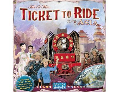 ADC Blackfire Ticket to Ride - Legendary Asia