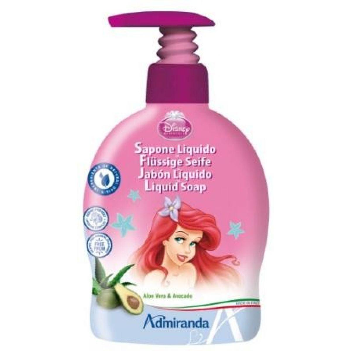 Admiranda Disney Princezny - Ariel tekuté mýdlo 300ml