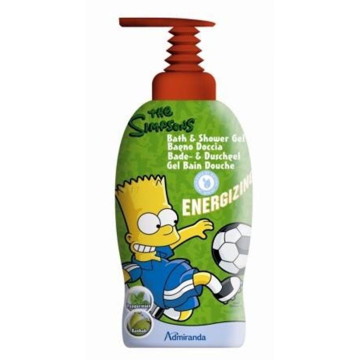 Admiranda Simpsonovi Bart Energizing 2v1 1000ml