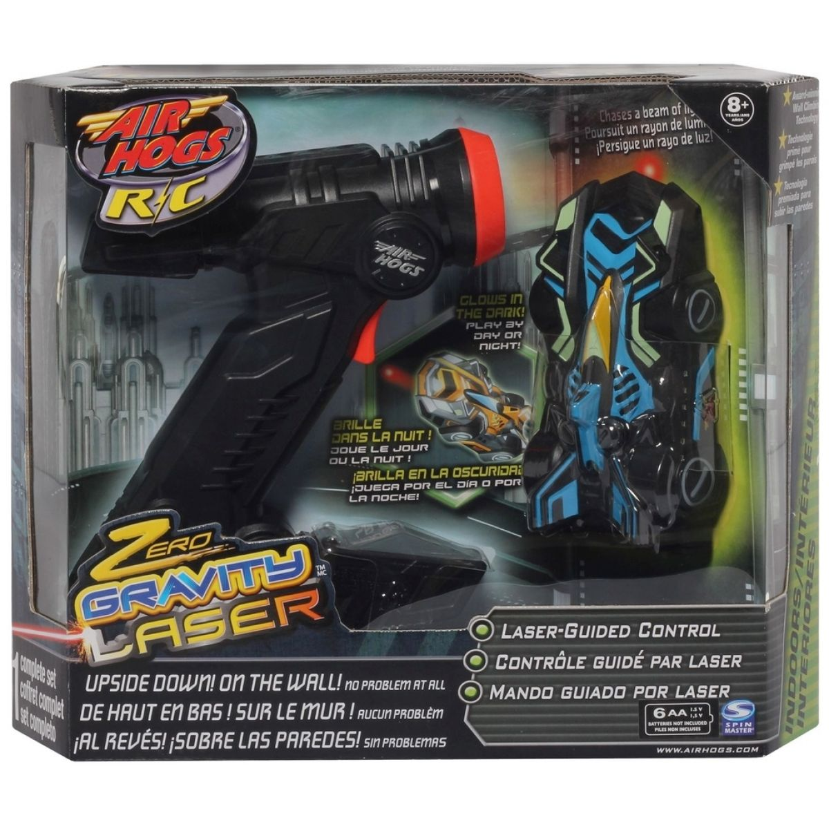 Air Hogs RC auto Laser Zero Gravity