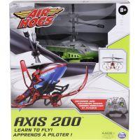 Air Hogs RC Helikoptéra na dálkové ovládání Axis 200 stříbrná