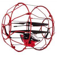 Air Hogs RC Vrtulník Roller - Červená - Poškozený obal