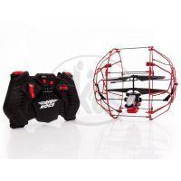 Air Hogs RC Vrtulník Roller - Červená 2