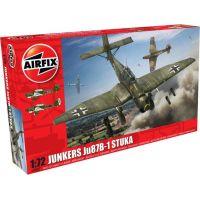 Airfix Classic Kit letadlo  Junkers JU87 Stuka 1:72 nová forma