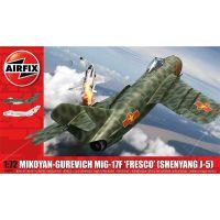 Airfix Classic Kit letadlo Mikoyan-Gurevich MiG-17F Fresco 1:72